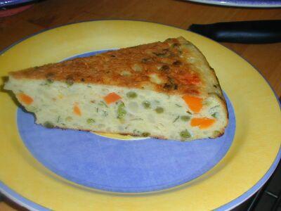 Omelette aux pommes de terre et carottes  Passetempscuisine