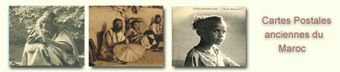 Cartes postales anciennes des Juifs du Maroc