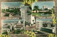 Photos des années 50 au Blvd de la Gare à Casablanca
