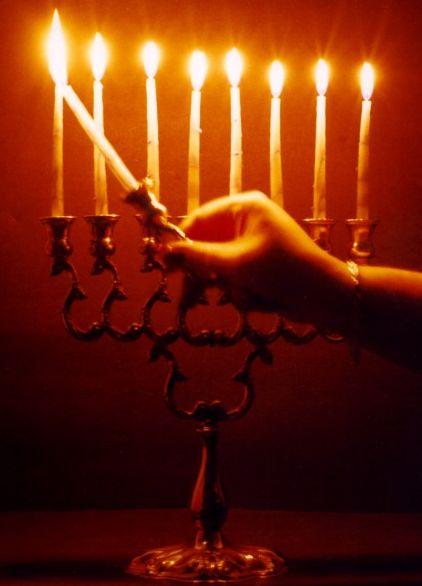 Joyeuses Fetes de Hanouka - Pour voir l'allumage des bougies au jour le jour, cliquer ici