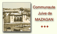 Communaute juive de Mazagan