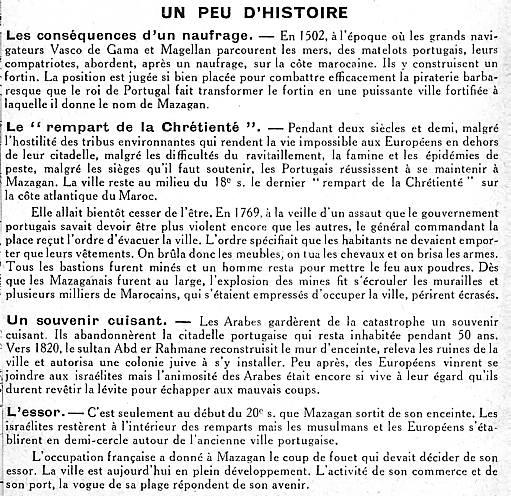 Histoire de Mazagan Michelin 1950.jpg