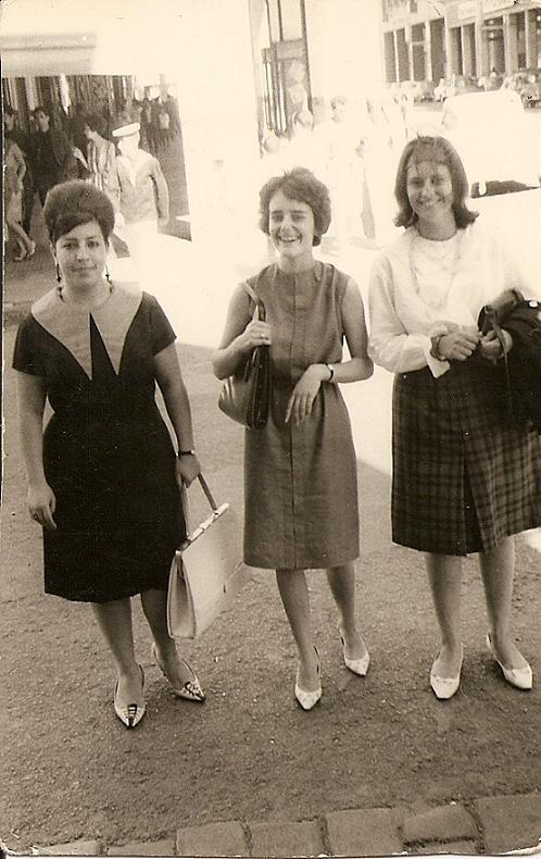 Micheline Sylvente Simone Huon et Marie le 13 juillet 1963.jpg