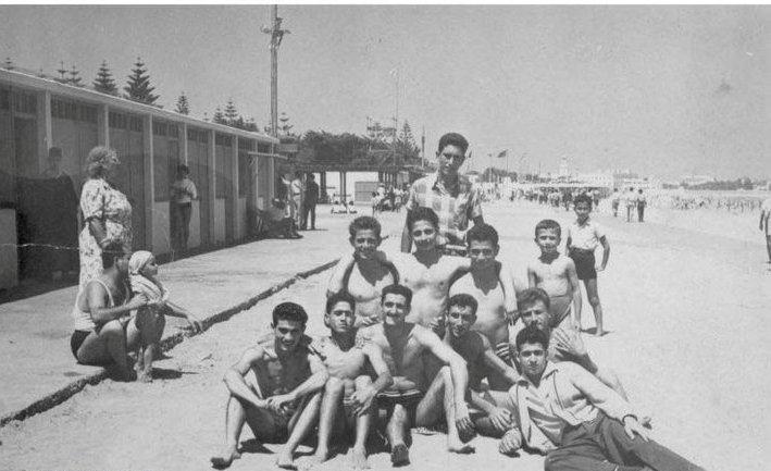 Mazagan la plage 1955.jpg