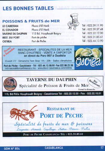 nostalgie casablanca-2007-bonnes tables-poissons-.JPG